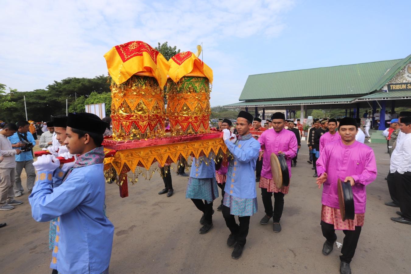 40 Ribu Undangan dan 1000 Hidang Meriahkan Maulid Raya Banda Aceh