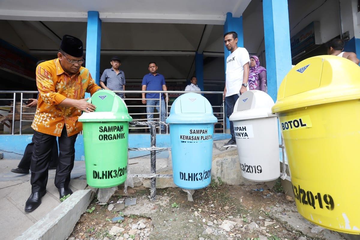 DLHK3 Banda Aceh Ajak Warga Memilah Sampah Dari Rumah