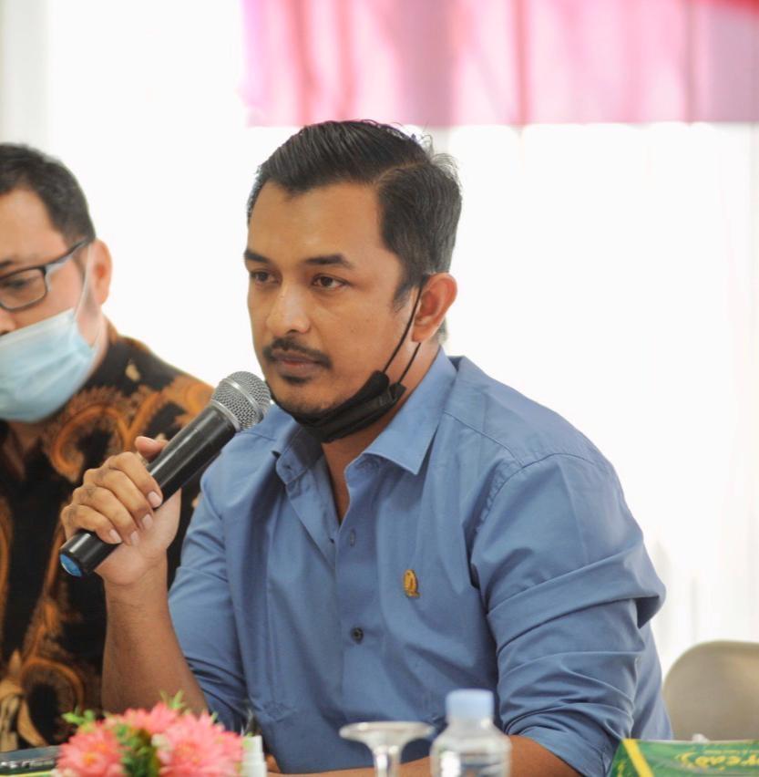 Ketua Komisi 3 Ingatkan Dinas PUPR Kota agar tidak mengeluarkan Rekomendasi pembangunan komersil di RTH.