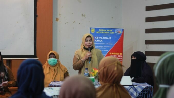 DP3AP2KB Kota Banda Aceh Ajak Masyarakat Sukseskan PK-21
