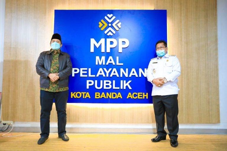 Bupati Siak Alfredi Tertarik Bangun MPP Seperti di Banda Aceh