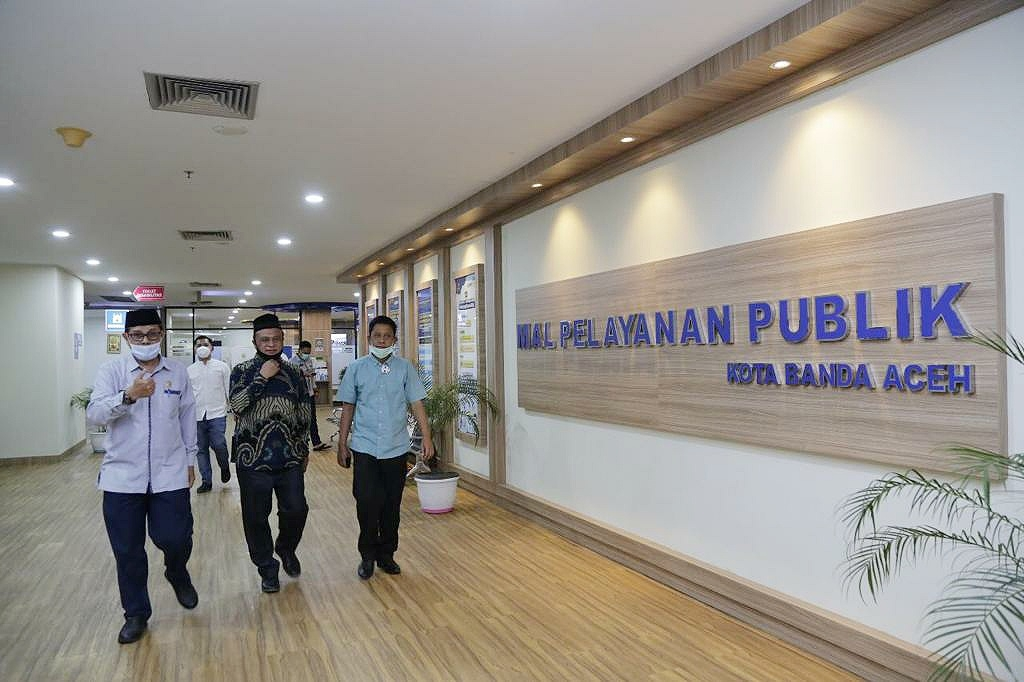 Ini Dia berbagai macam jenis layanan di MPP Kota Banda Aceh
